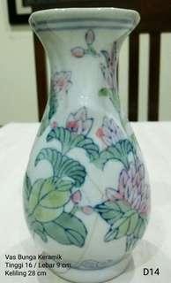 Vas Bunga Antik (keramik)