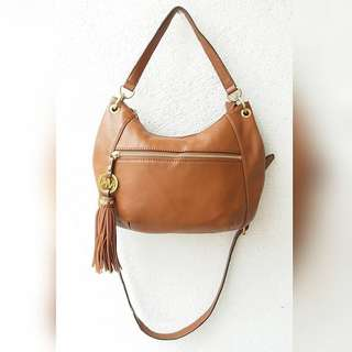AUTHENTIC MICHAEL KORS GENUINE LEATHER SLING BAG - nego
