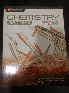 Chemistry Matters Textbook