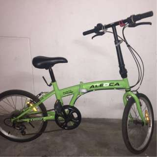 Excellent condition foldable bike bicycle lightweight 6 speed Shimano gears