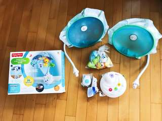 Fisher Price 2in1 projection mobile 床鈴