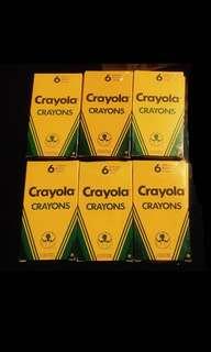 Crayola (6 pieces) Crayons