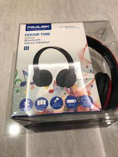 Prolink Bluetooth head phone