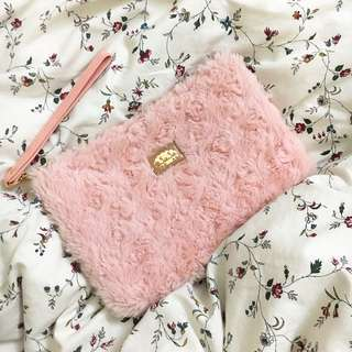 Cute Pink Makeup Bag