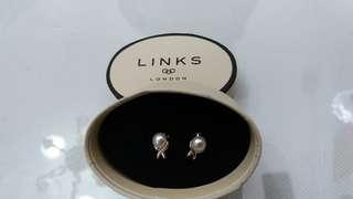 Links of London Pearl Earrings 全新珍珠耳環