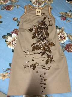 Anthentic Anne Kaelle embroidery dress