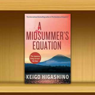 BN - A Midsummer's Equation By Keigo Higashino