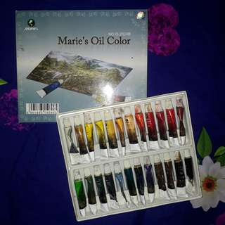 Marie's Oil Colors