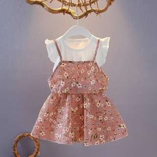 Girls 2pc Dress