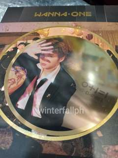 Wanna One Kang Daniel IPU Night Ver Mirror Card