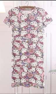 Girls Hello Kitty Pyjamas Dress