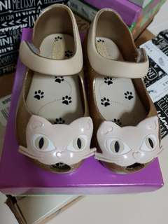 Mini Melissa Shoes cat