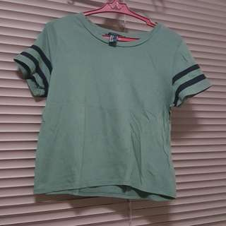 Forever 21Olive Green Crop Top