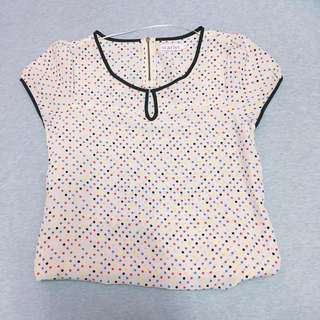Polkadot Blouse #20under