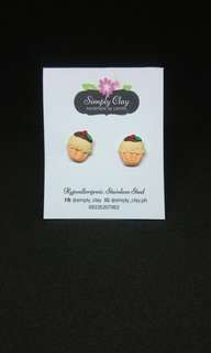 Cupcake3 earrings