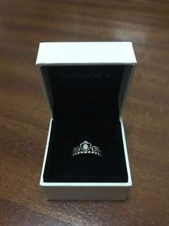 Authentic Pandora Tiara Ring Size 50