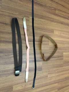 Pre-Loved Women Belts #20UNDER