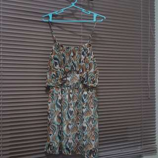 Folded and Hung Ruffled Dress