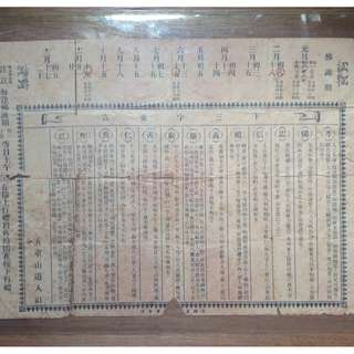 Old buddhist document - $25