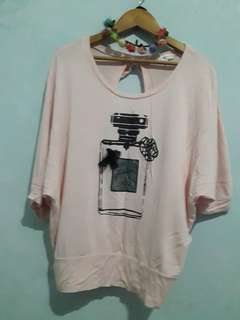 Cotton Pink Top