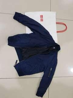 Uniqlo Jacket & Long Sleeve Shirt (2 pcs)