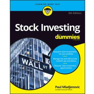 Stock Investing For Dummies by Paul Mladjenovic - EBOOK