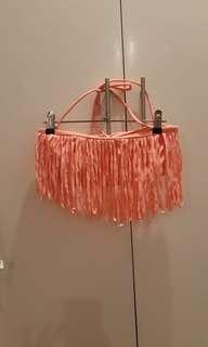 Coco cabana bikini fringe top