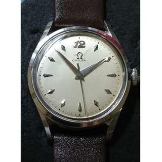 Vintage 50年代 Omega 上鍊手錶 (model: 2667)