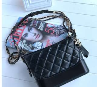 Chanel Leather Gabrielle Small