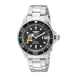 迪士尼 Invicta 限量版 男士 40毫米 自動手錶