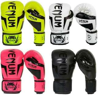 Sarung Tinju VENUM Elite Boxing - Sarung Tinju Muay thai Boxing MMA Tinju - Sarung Tinju Murah - Sarung Tinju Samsak