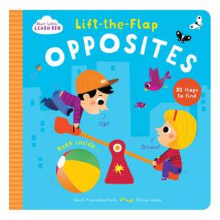 BN Start Little Learn Big Lift-the-Flap Opposites