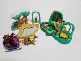 Hasbro Disney Princess playsets