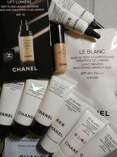 12件 Chanel 護膚品 化妝品 Samples