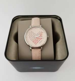 Fossil's women jacqueline ES4153 nude leather strap