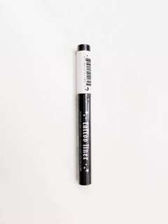 現貨Brand New Sealed Kat Von D Tattoo Liner 車禍 眼線筆 0.2ml In Trooper