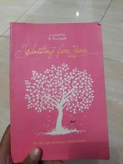 "Novel ""Waiting for You"" karya R. Kurniadi"