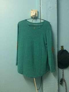 Green Loose Shirt preloved