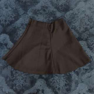 Preloved Rok Mini Hitam / Black Skirt