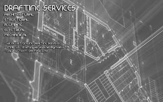 Drafting services from architectural, structural, plumbing, electrical and mechanical plans