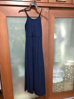 Navy Blue long Dress