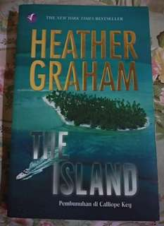 Novel The Island Pembunuhan di Calliope Key by Heather Graham