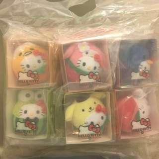 香港麥當勞hello kitty雜果兵團超值限量玩偶