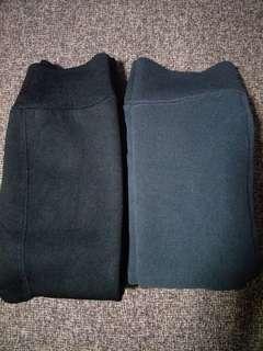 BLACK, DARK GREY LAST PIECE! DARK BROWN LAST 2! GRAB NOW! BNIB Winter Leggings (Medium Fleece Version)