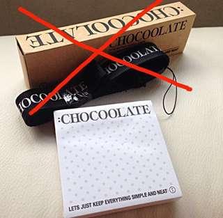 CHOCOOLATE :: POST IT PAD ::