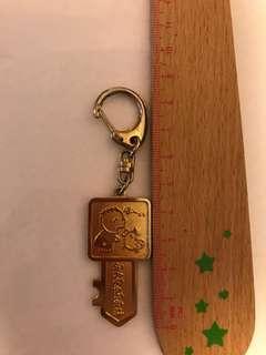 大口仔鎖匙扣 1990年 (金色)