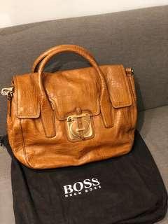 Hugo Boss 真皮 包包 100%