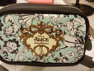 alice in wonderland makeup pouch