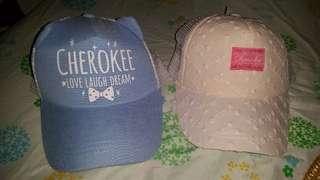 Brandnew Cherokee caps