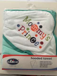 Brand new: baby hooded towel